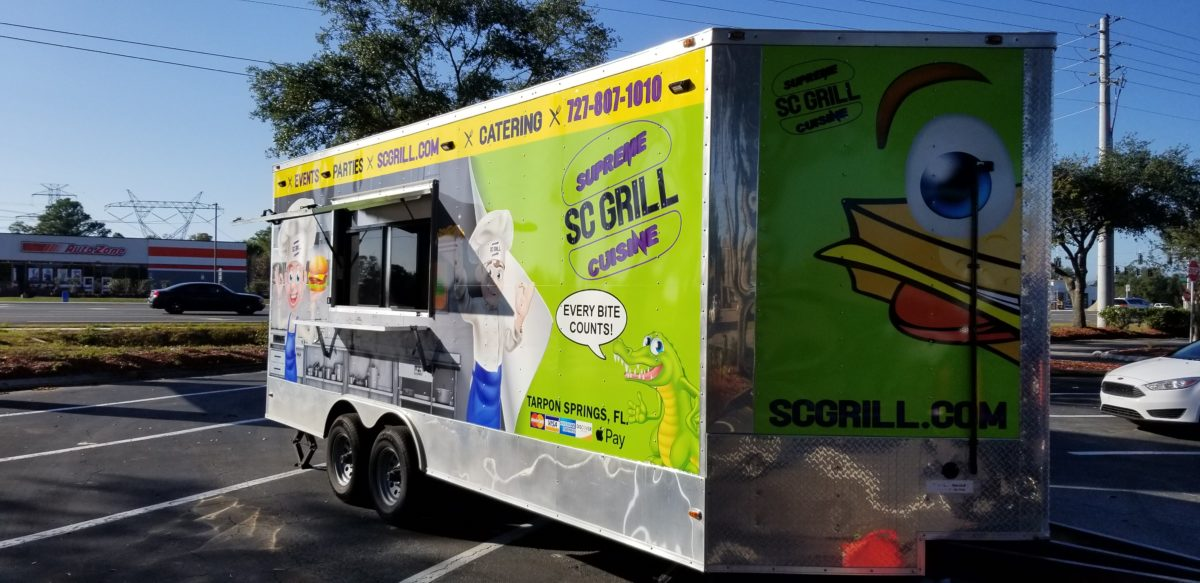 SC Grill Catering Event Trailer