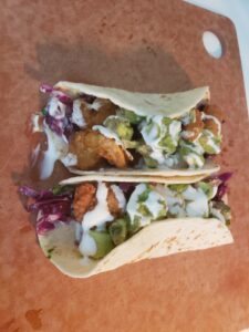 SC Grill Catering Neighborhood Service Shrimp Tacos From SC Grill