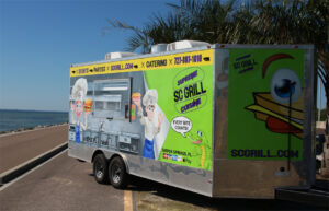 SC Grill's Trailer  for Finger Food and Small Plate Catering