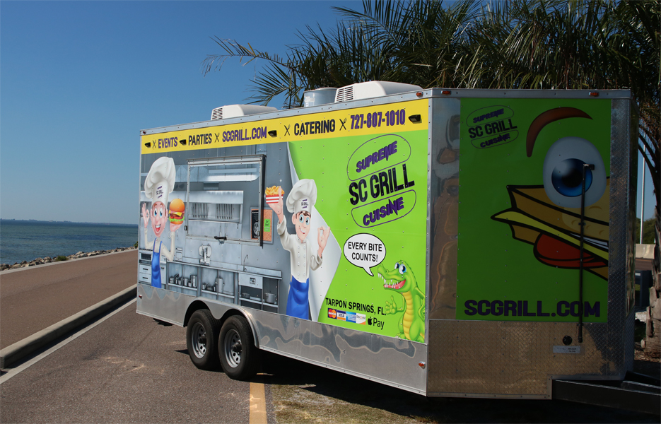 SC Grill Trailer is a Food Vendor For Craft Shows, Events, Fairs and Festivals