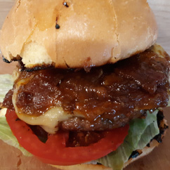 SC Grill's New Bacon Jam Burger