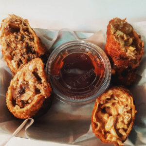 SC Grill's Affordable Catering Hudson FL Phat Philly Egg Rolls