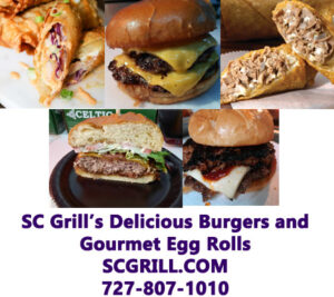 SC Grill Catering & Food Truck Burgers & Egg Rolls
